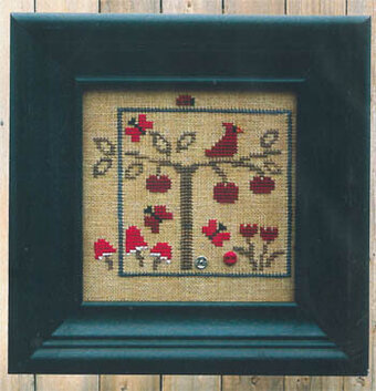 World of Color - Red - Cross Stitch Pattern