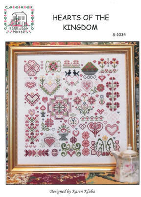 Hearts of the Kingdom - Cross Stitch Pattern
