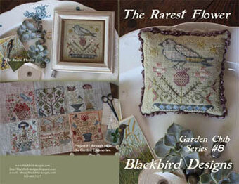 The Rarest Flower - Garden Club 8 - Cross Stitch Pattern