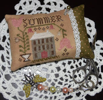 A Summer Pin Pillow - Cross Stitch Pattern