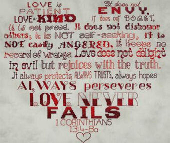 Love Is - Cross Stitch Pattern