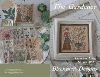 Gardener, The - Garden Club #9 - Cross Stitch Pattern