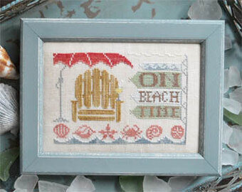 On Beach Time - To the Beach 5 - Cross Stitch Pattern