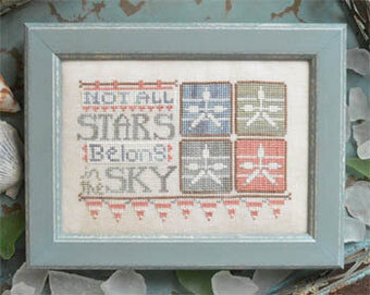 Stars in the Sky - To the Beach #6 - Cross Stitch Pattern
