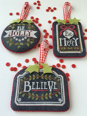 Chalkboard Ornaments - Christmas Collection Part 1