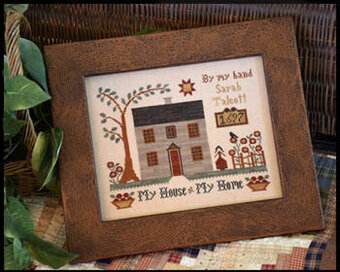 My House - My Home - Cross Stitch Pattern