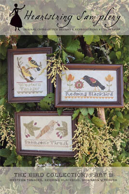 Bird Collection, The - Part II - Cross Stitch Pattern