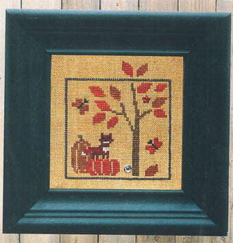 World of Color - Orange - Cross Stitch Pattern