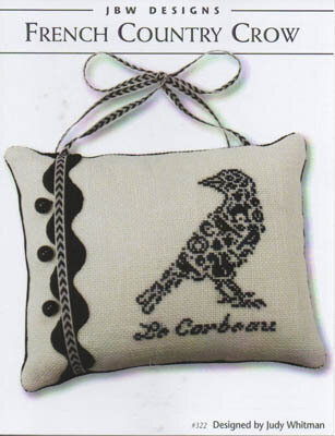 French Country Crows - Cross Stitch Pattern