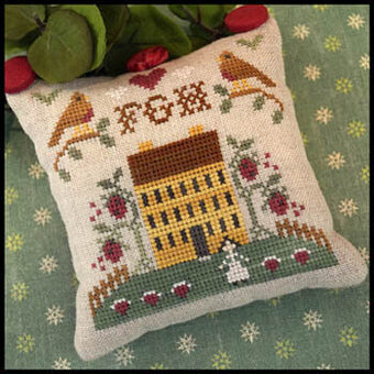 ABC Sampler No 3 - FGH - Cross Stitch Pattern