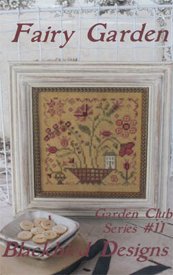 Fairy Garden - Garden Club #11 - Cross Stitch Pattern