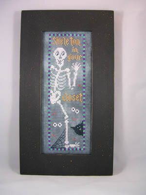 Skeleton in Your Closet - Cross Stitch Pattern