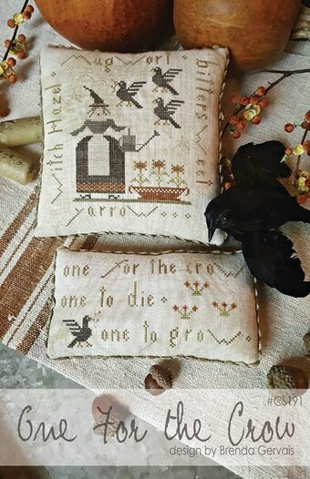 One for the Crow - Cross Stitch Pattern