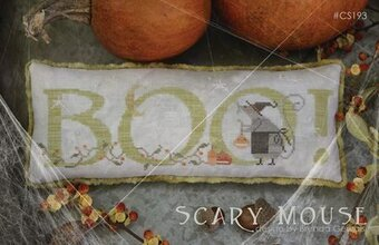 Scary Mouse - Cross Stitch Pattern