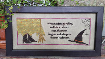Tis Near Halloween - Cross Stitch Pattern
