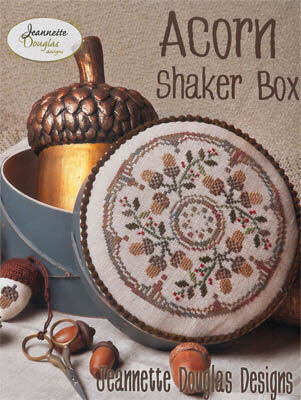Acorn Shaker Box - Cross Stitch Pattern