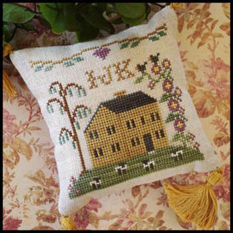 ABC Sampler No 4 - IJK - Cross Stitch Pattern