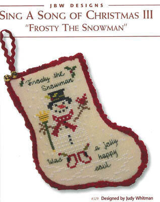 Sing a Song of Christmas III - Cross Stitch Pattern