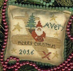 Avery's Toy Express - Cross Stitch Pattern