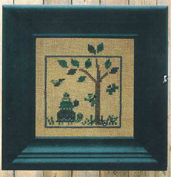 World of Color - Green - Cross Stitch Pattern