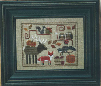 Oodles of Autumn - Cross Stitch Pattern