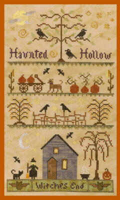 Haunted Hollow - Cross Stitch Pattern