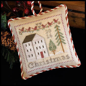 2016 Christmas Ornament - Cross Stitch Pattern