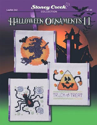 Halloween Ornaments II - Cross Stitch Pattern