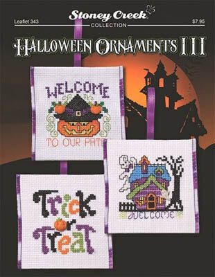 Halloween Ornaments III - Cross Stitch Pattern