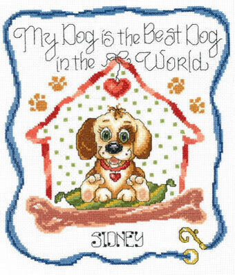 Best Dog in the World - Cross Stitch Pattern