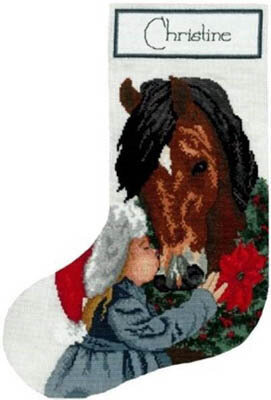 First Love Stocking - Cross Stitch Pattern