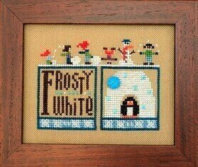 Double Up - Winter - Cross Stitch Pattern