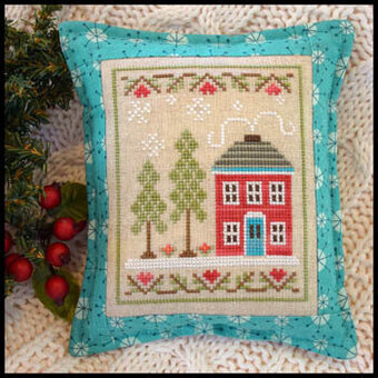 Snow Place Like Home 2 - Cross Stitch Pattern