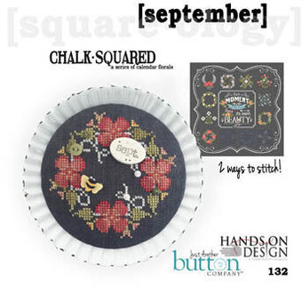 Chalk Squared - September - Cross Stitch Pattern
