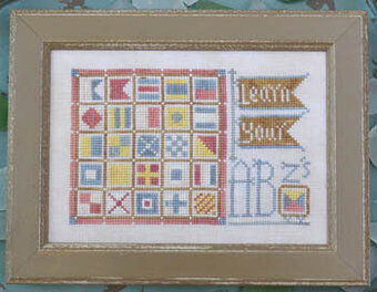 To the Beach 11 - Learn Your ABZ's - Cross Stitch Pattern