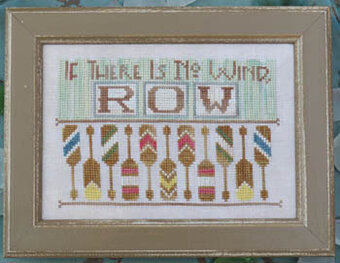 To the Beach 12 - Row - Cross Stitch Pattern