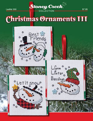 Christmas Ornaments III - Cross Stitch Pattern