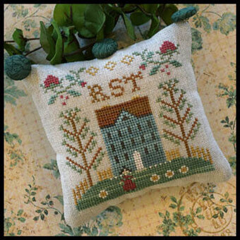 Little House ABC Samplers  7 - RST  - Cross Stitch Pattern