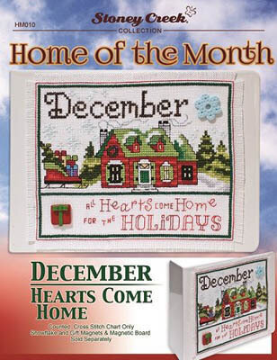Home of the Month - December - Cross Stitch Pattern