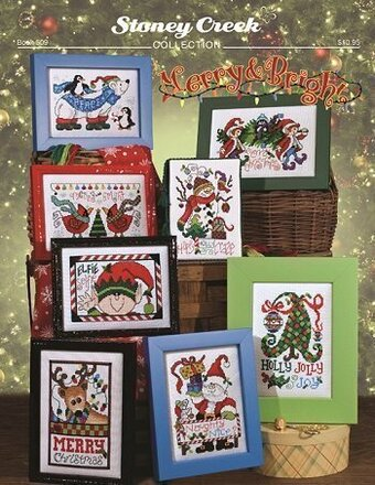 Merry & Bright - Cross Stitch Pattern
