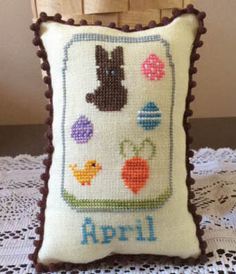 What's in Your Jar - April - Cross Stitch Pattern