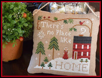 No Place Like Home - Cross Stitch Pattern