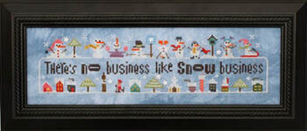 Snowscapes & Snow Qualls - Cross Stitch Pattern