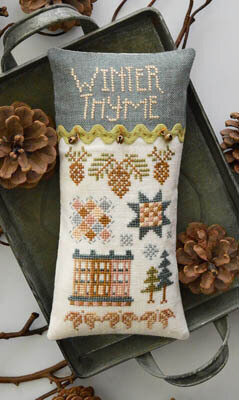Winter Thyme - Cross Stitch Pattern