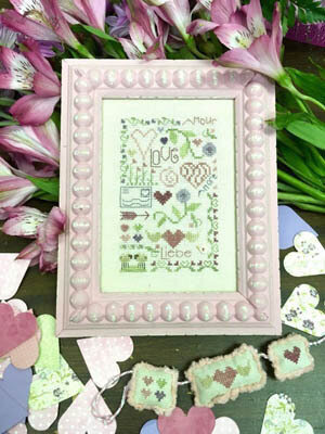 Love Notes - Cross Stitch Pattern