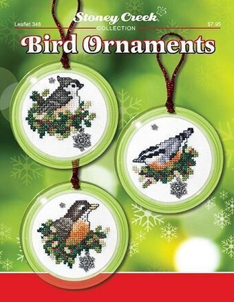 Bird Ornaments - Cross Stitch Pattern