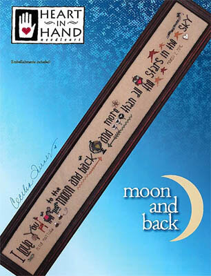 Moon and Back - Cross Stitch Pattern