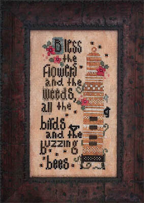 Birds & the Bees - Cross Stitch Pattern