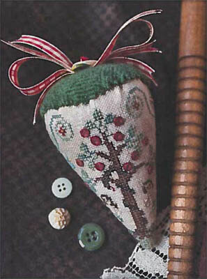 Eden Berry LINEN Berry Collection - Cross Stitch Pattern
