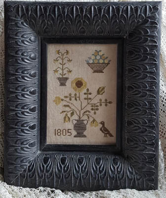 Fleurs 1805 - Cross Stitch Pattern